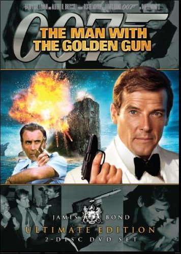 """DVD cover for """"The Man With The Golden Gun"""""""