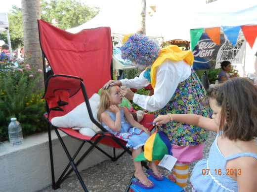 Cappy the Clown, Entertaining Mon-Friday 6-9 pm