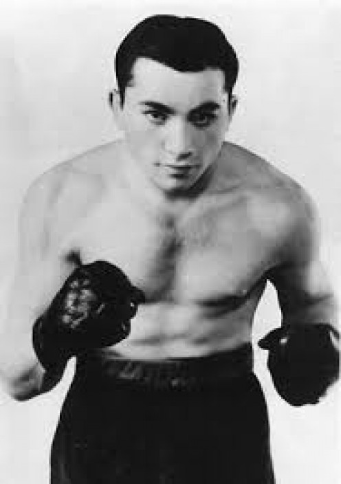 Kid Kaplan is the former featherweight champion who won his crown in 1925.