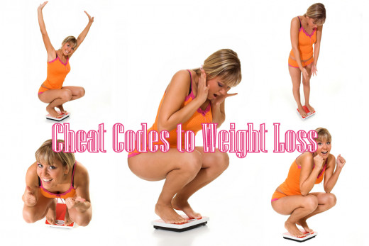Cheat codes to weight loss