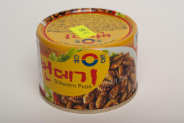 If you can't find it on the streets, there are canned beondegi in the markets. Yes, these are now in cans.
