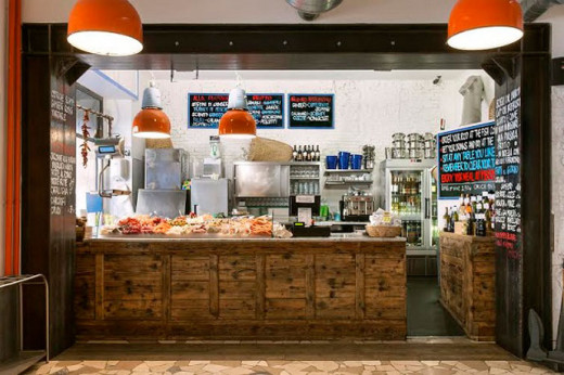 Order your fish at the counter and tell them how to prepare it