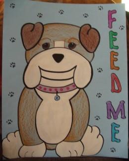 Feed the Webkinz Bulldog