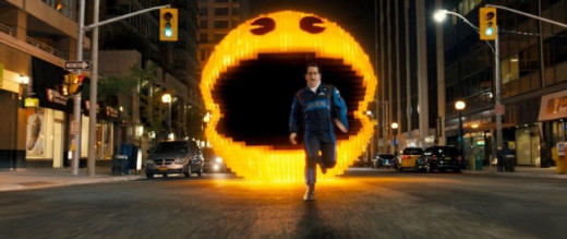 Josh Gad in Pixels.