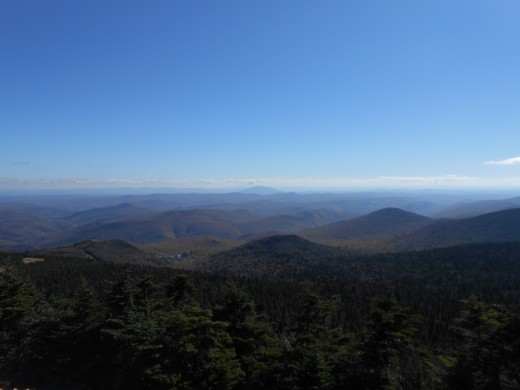 Mountains in Rutland Vermont