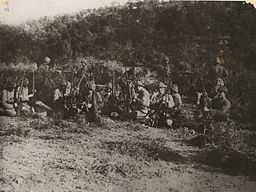 OTTOMAN SOLDIERS RESTING