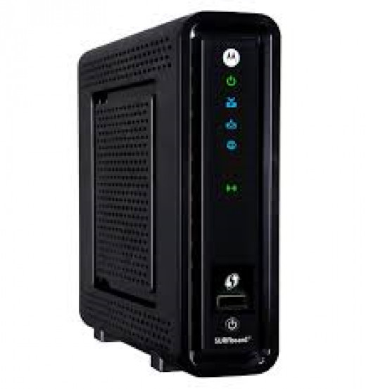You can also connect your Telo to the Motorola SBG6580 gateway