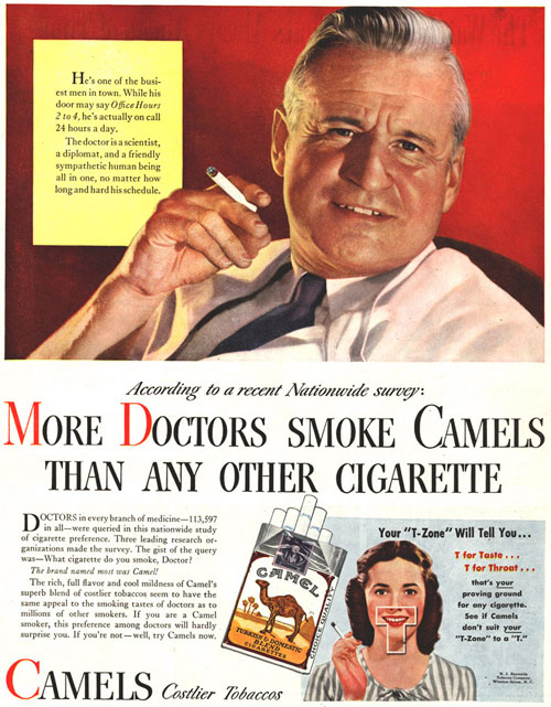 Your doctor wants you to smoke...?