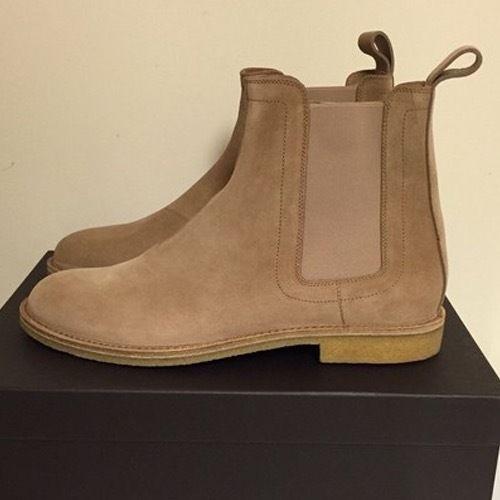 Bottega Veneta Beige Chelsea Boots