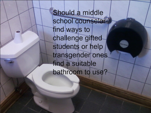There are too many issues at middle school and not enough counselors.