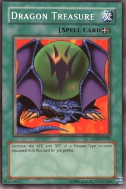 Dragon Treasure. Today's card images courtesy of yugioh.wikia.com