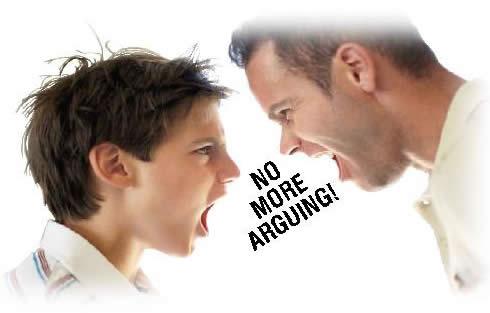 Useful advice is always helpful in raising a disrespectful kid.