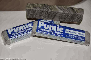 Oven cleaning is easy with the help of a pumice stone. Use the pumice stone to remove any leftover spots or debris. They work well to clean oven racks too.
