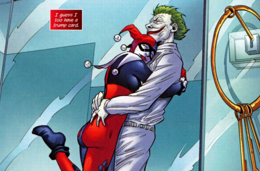 Harley is a very different enemy to the Dark Knight