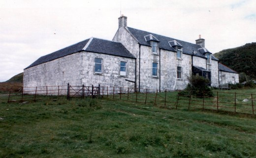 Barnhill on the Isle of Jura, where Orwell wrote '1984'
