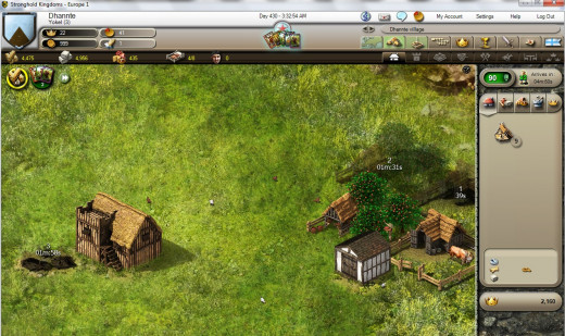 Beginning Building in Stronghold Kingdoms