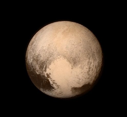 New Horizons photo of Pluto taken in July 2015