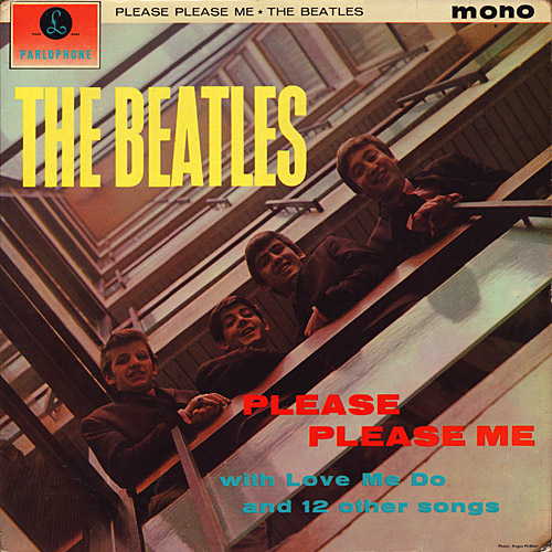 "The Beatles ""Please Please Me"" Parlophone Records PMC 1202"