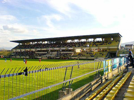 Tetovo's City Stadium was the site of home games for FK Renova.