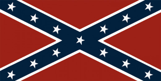 "The final rendition of the Virginia ""rebel"" flag."