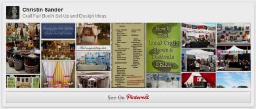 Craft Fair Booth Set Up & Design Ideas Pinterest Board