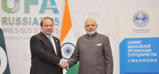 They are shaking hands with a hope to rejuvenate the relation of India and Pakistan.