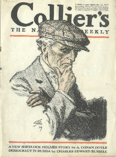 "The cover of ""His Last Bow"""