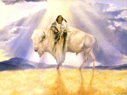 Who is White Buffalo Calf Woman and what is her significance?
