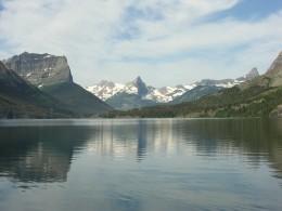 St. Mary Lake.