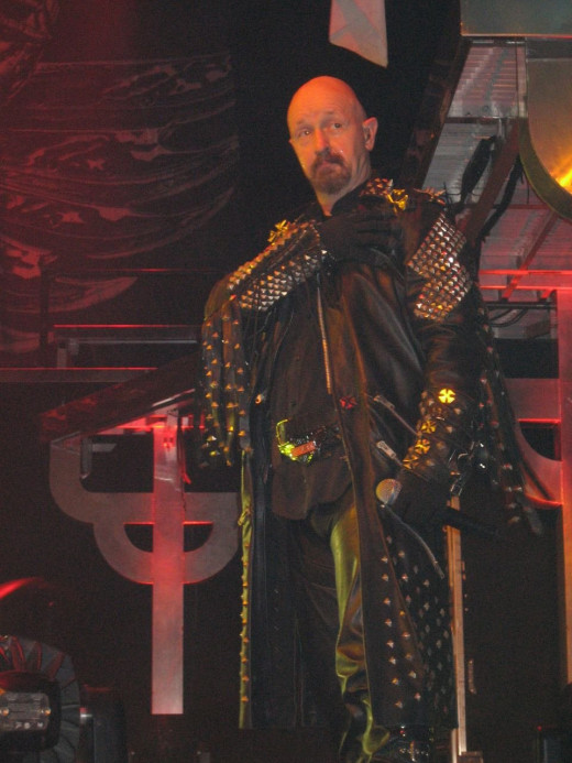 Rob Halford w/ Judas Priest