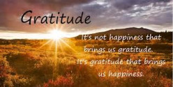 What is the meaning of being Grateful?