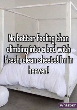 Bed Sheets How do they make you feel?