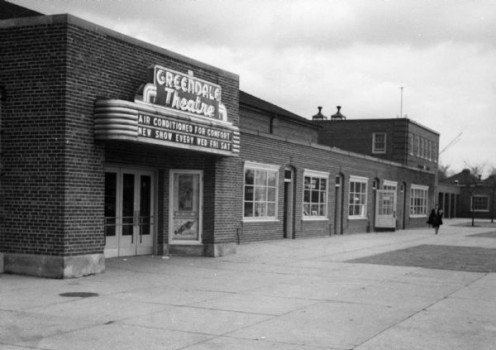 Greendale Theater, 1939.