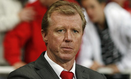 Before becoming manager of FC Twente, Steve McLaren also managed English club Middlesbrough before taking the England job in 2006.