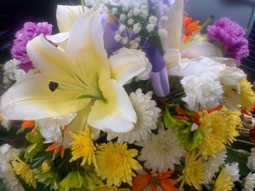 Flowers for Gran Gran