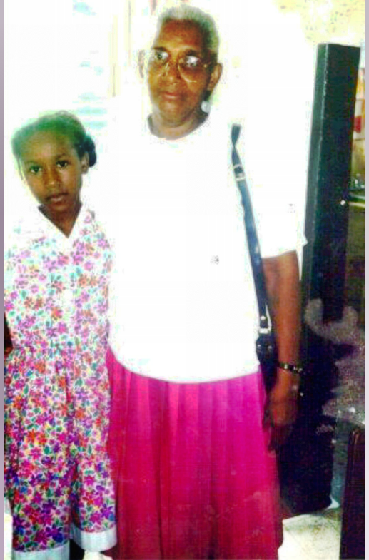 "Photo with my loving granny ""1996"""