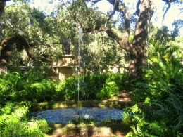 Water feature in Coconut Grove, FL