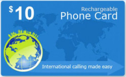 International Prepaid Phone Card