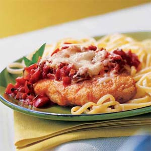 Chicken Parmesan makes a great meal any day of the week!
