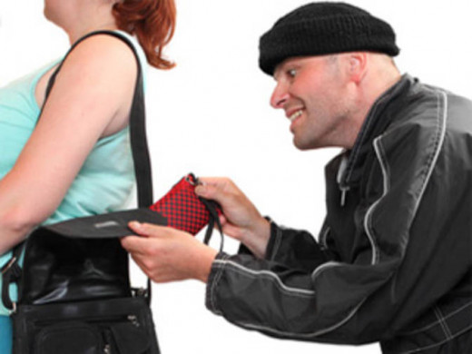 The more lax you are in protecting your valuables, the happier you make the pickpockets.