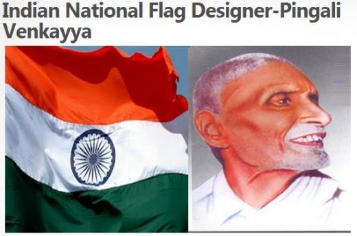 Indian Natioanl Flag Designer - Pingali Venkayya