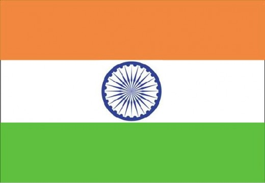 National flag with tricolours was taken up, with Dharma Chakra of King Ashoka in 22nd of July 1947