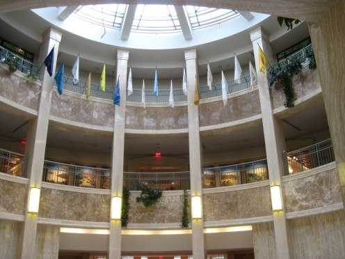 Rotunda at New Mexico State Capitol Building