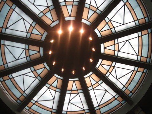 Skylight at New Mexico State Capitol Building
