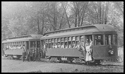 The trolley at Boiling Springs