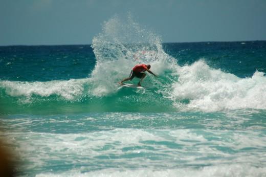 Kelly Slater at Duranbah Gold Coast Australia