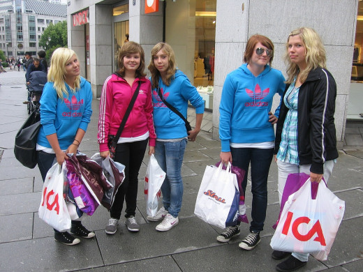 Teens can take advantage of discounts as they go shopping.