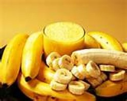 Banana or banana-pineapple or banana-peach, banana-blueberry--all are lucious.  Add lemon for a tart twist too!