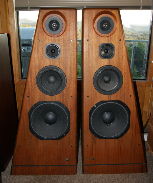 Mighty JBL 250Ti's - Just as good as in 1985