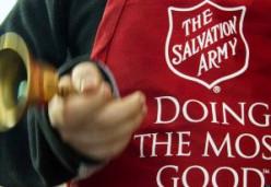 A bell ringer for the Salvos